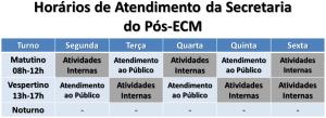 Atendimento Pós-ECM